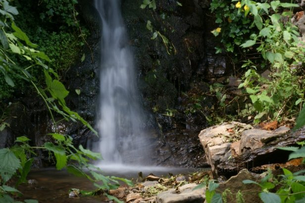 Wasserfall bei Frehlinghausen - Klicken für größere Ansicht!