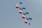 Flugtag Falkenberg Fallschirm