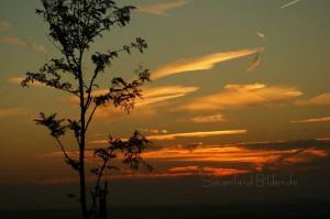 Sonnenaufgang im Ebbe